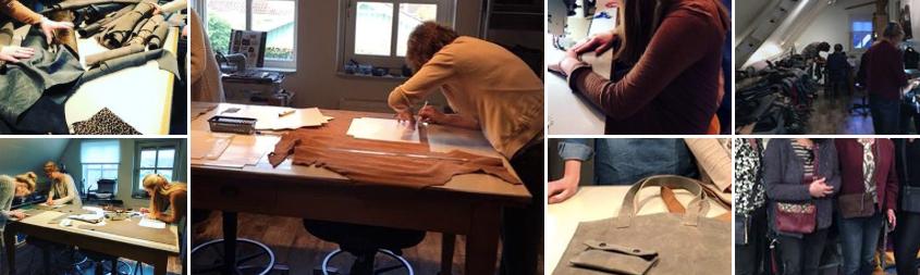 9e74e98e6ad Workshop leren tas - Jacqlins handgemaakte leren tassen