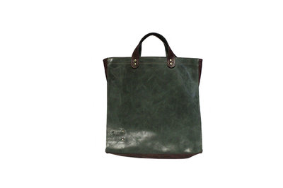 Shopper ' vintage' groen